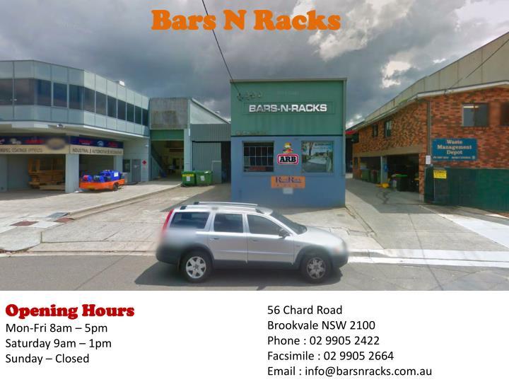 Bars N Racks
