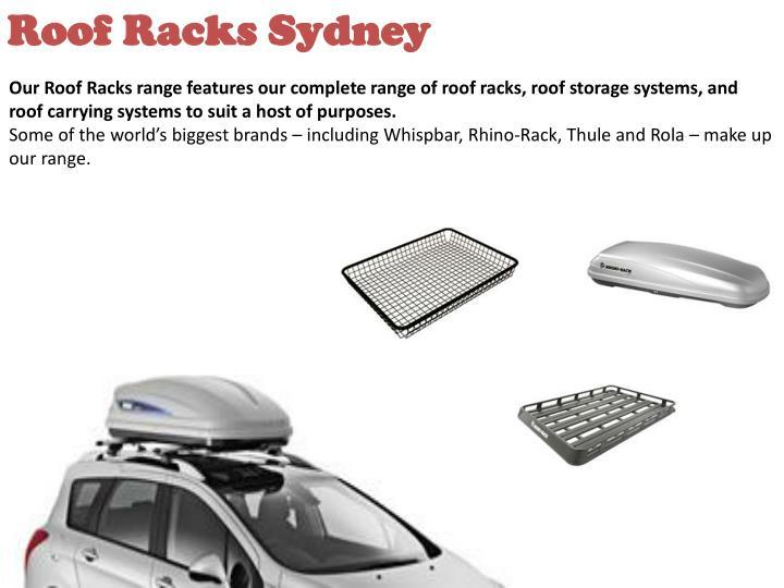 Roof Racks Sydney