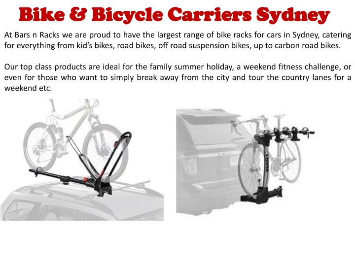 Bike & Bicycle Carriers Sydney