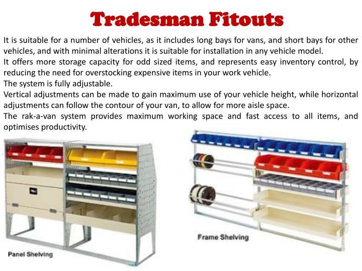 Tradesman Fitouts