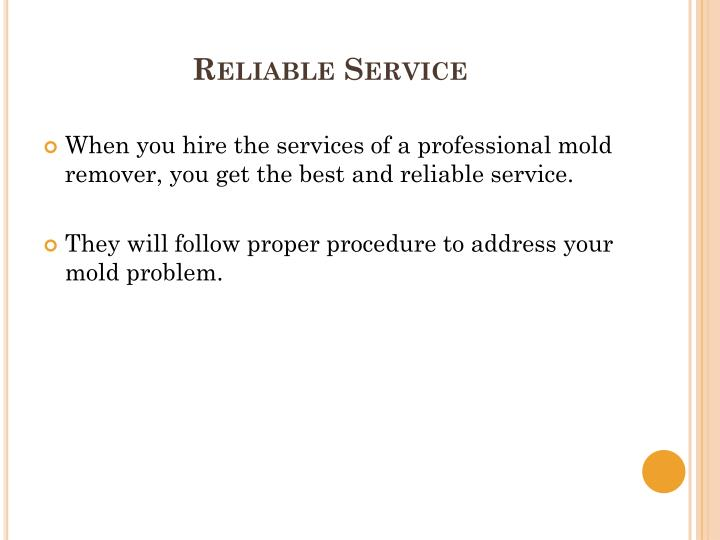 Reliable Service