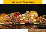 welcome to adruzy