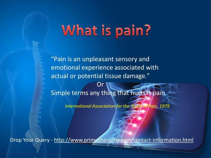 """Pain"