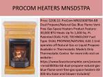 procom heaters mnsd5tpa