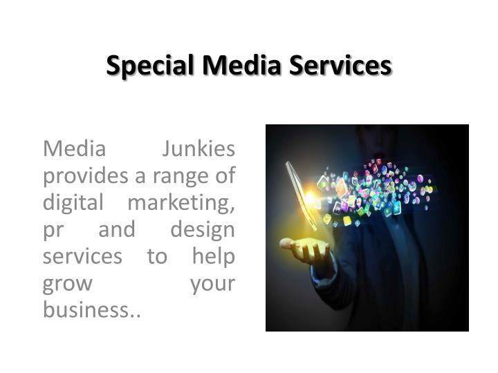 Special Media Services