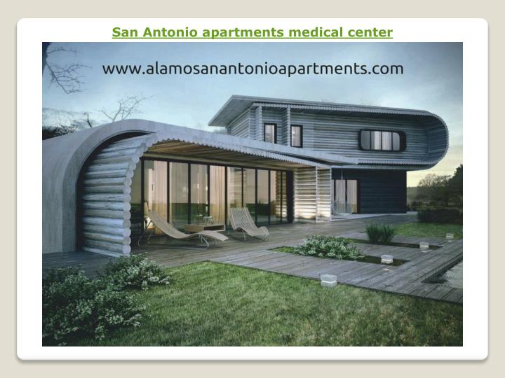 San Antonio apartments medical center