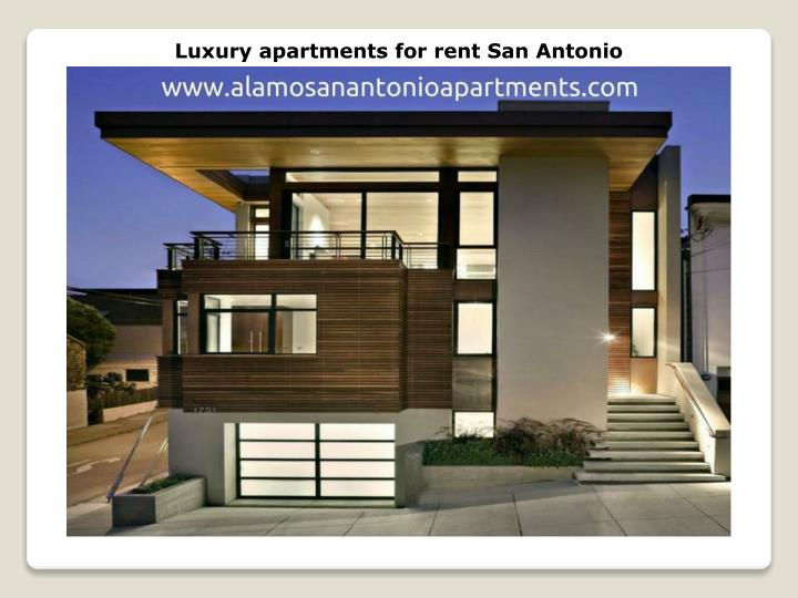 Luxury apartments for rent San Antonio