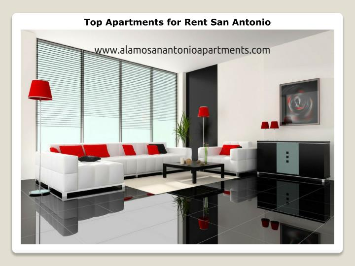 Top Apartments for Rent San Antonio