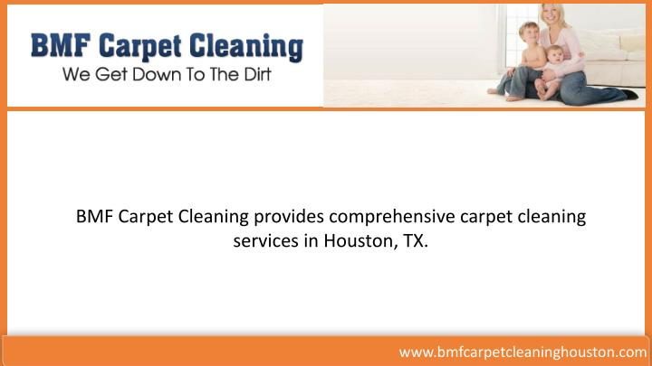 BMF Carpet Cleaning provides comprehensive carpet cleaning