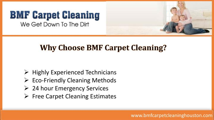 Why Choose BMF Carpet Cleaning?
