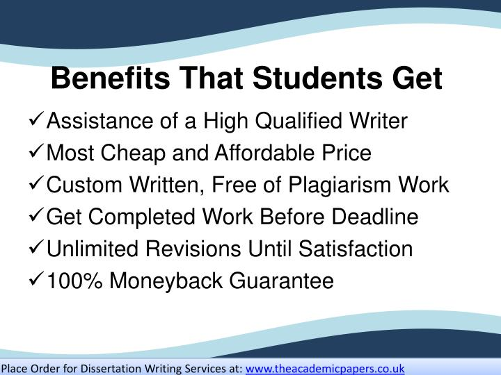Benefits that students get