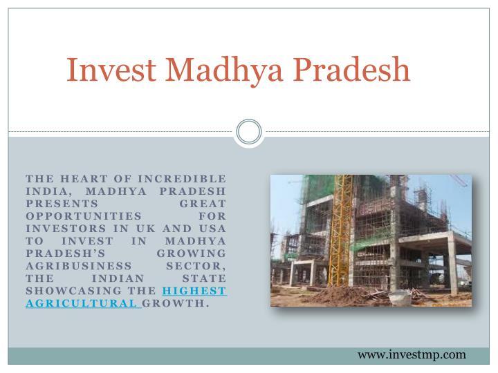Invest Madhya Pradesh