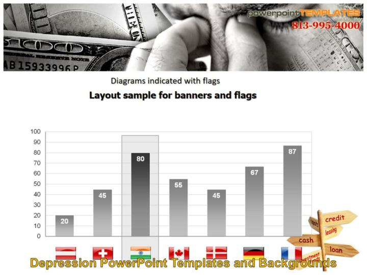 Layout sample for banners and flags