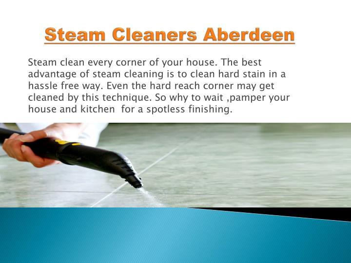 Steam Cleaners Aberdeen