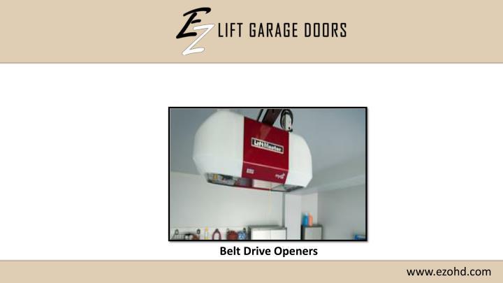 Belt Drive Openers