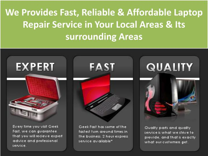 We Provides Fast, Reliable & Affordable