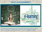 what is oassignment