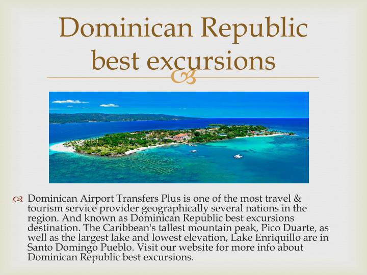 Dominican Republic best excursions