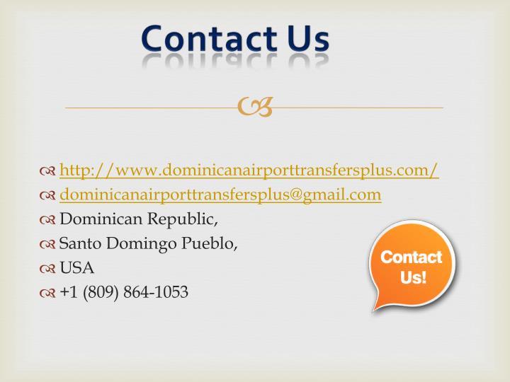 http://www.dominicanairporttransfersplus.com