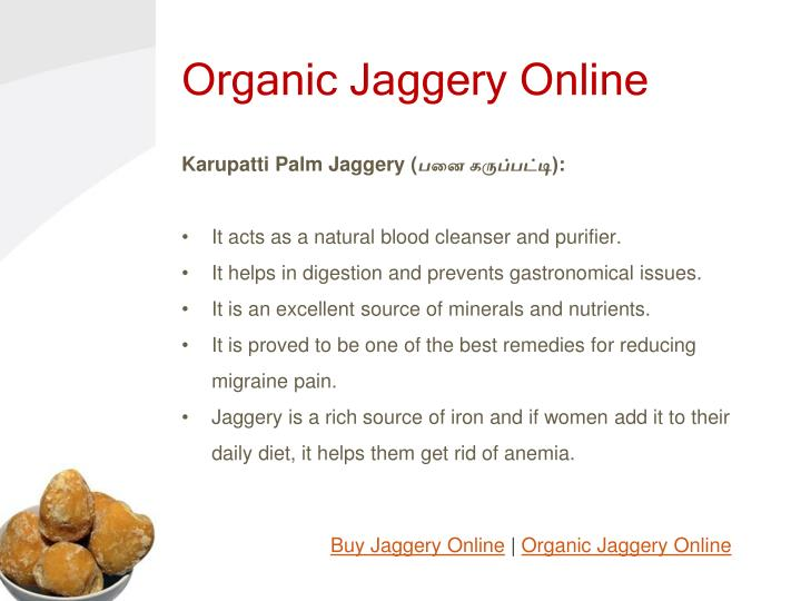 Organic Jaggery Online