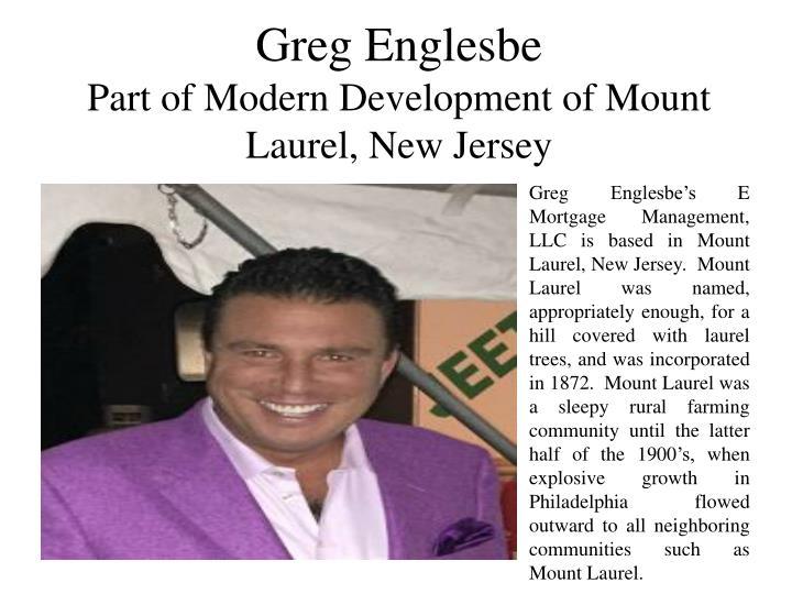 Greg Englesbe