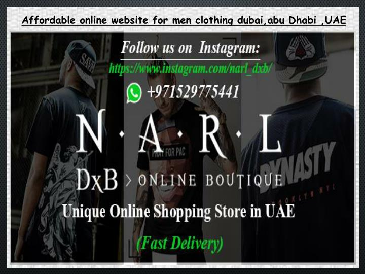 Affordable online website for men clothing dubai,abu Dhabi ,UAE