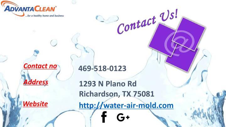 Contact no