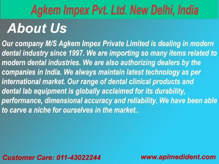 Dental lab equipment clinical material product importer and suppliers