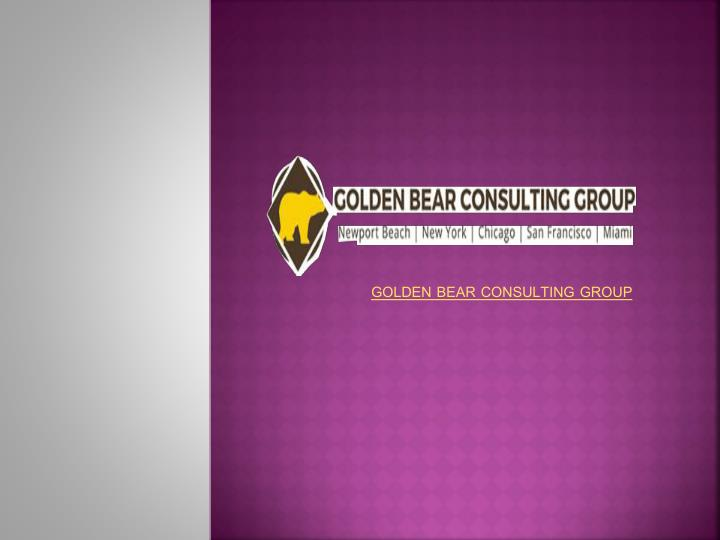 Golden bear consulting group
