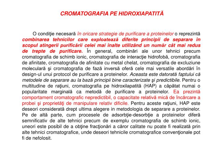 CROMATOGRAFIA PE