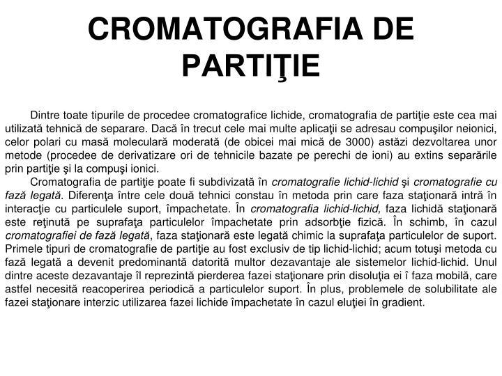CROMATOGRAFIA DE