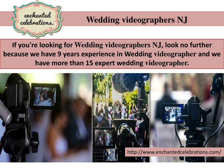 Wedding videographers NJ