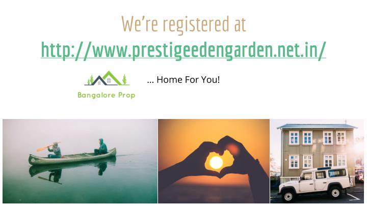 We're registered at