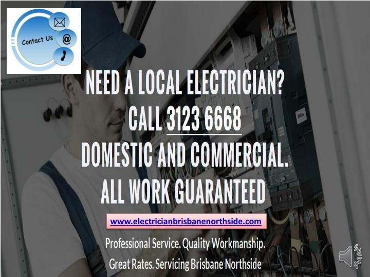 www.electricianbrisbanenorthside.com