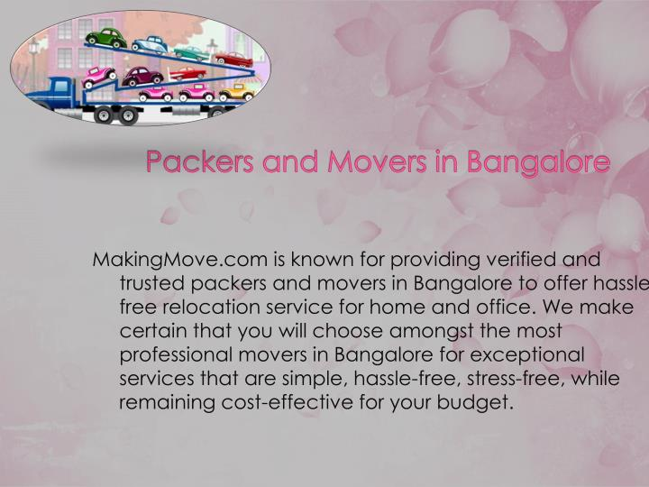 MakingMove.com is known for providing verified and