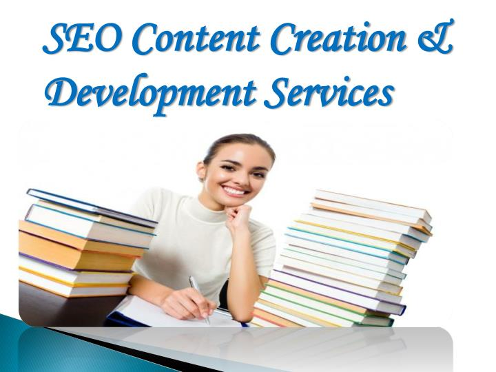 SEO Content Creation & Development Services