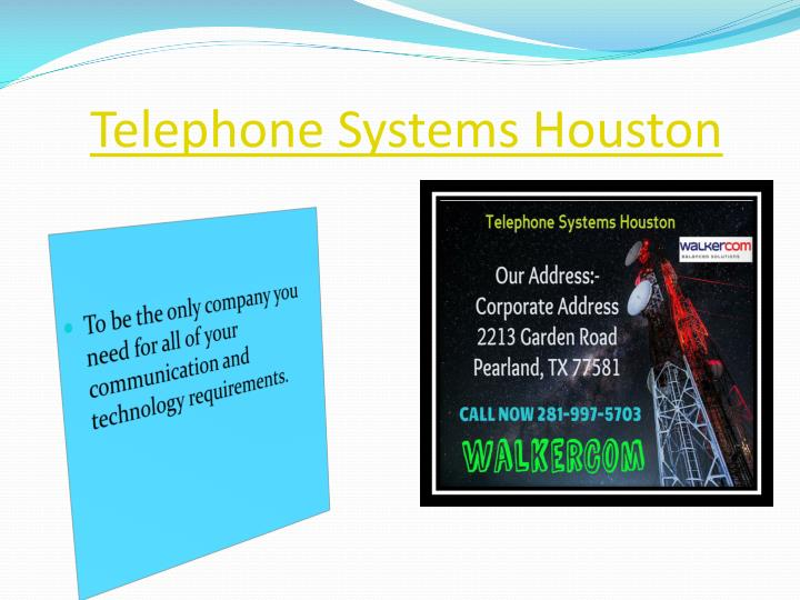 Telephone Systems Houston