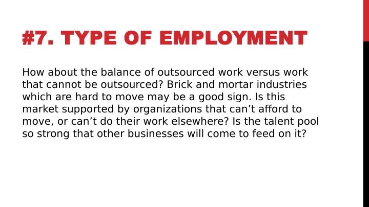 #7. TYPE OF EMPLOYMENT