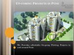 up coming projects in pune