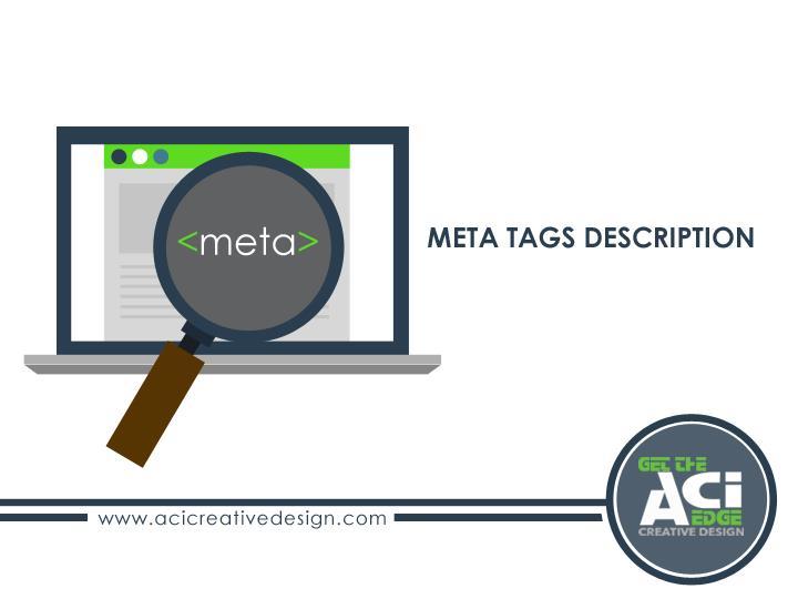 Meta Tags Description