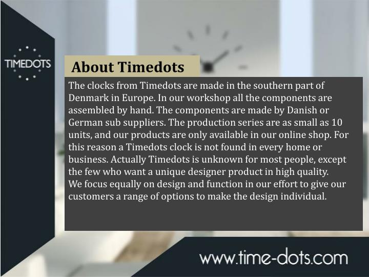 About Timedots