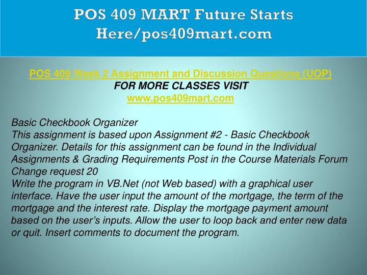 POS 409 MART Future Starts Here/pos409mart.com