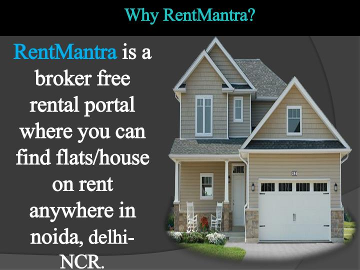 Why RentMantra?