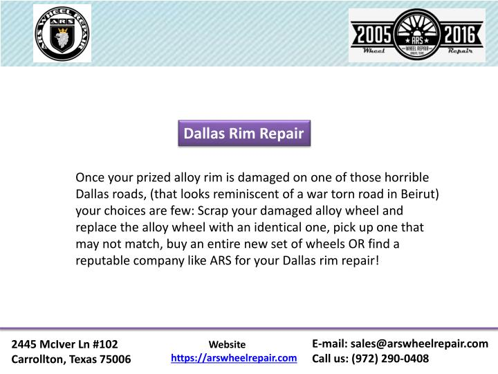 Dallas Rim Repair