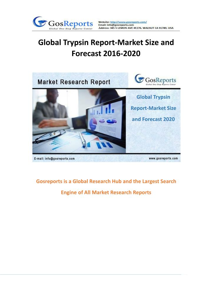 Global Trypsin Report-Market Size and