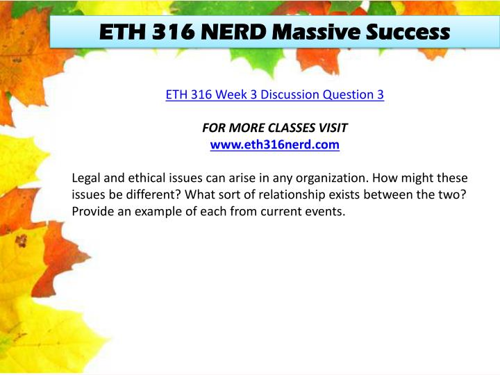 ETH 316 NERD Massive Success