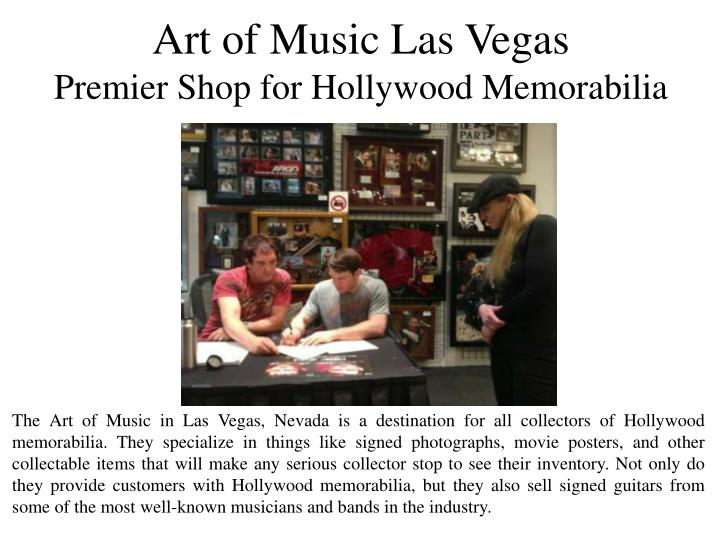 Art of Music Las Vegas