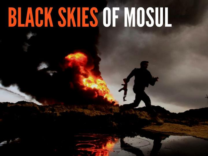 Dark skies of mosul