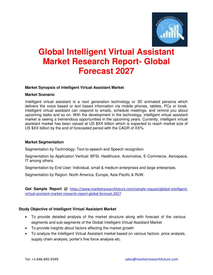 Global Intelligent Virtual Assistant