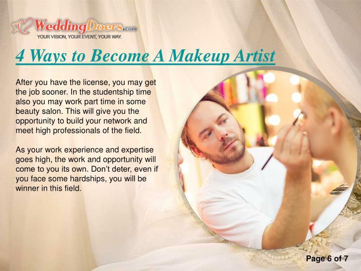 4 Ways to Become A Makeup Artist